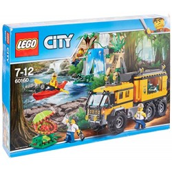 LEGO UK 60160 Jungle Mobile Lab Construction Toy