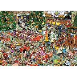 Jan van Haasteren 19061 Christmas Gifts Jigsaw Puzzle