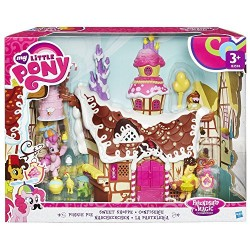 Hasbro My Little Pony Friendship is Magic Collection Pinkie Pie Sweet Shoppe Playset, Multi