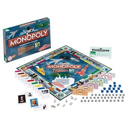 Thunderbirds Monopoly Board Game