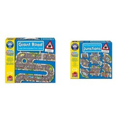 Orchard Toys Giant Road Jigsaw with Junctions Road Expansion Pack Bundle