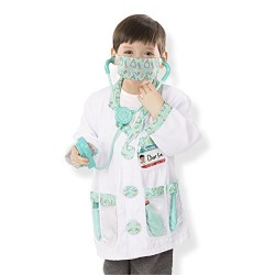 Melissa & Doug Doctor Role Play Costume Dress