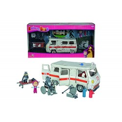 Simba 109309863 Masha Ambulance Play Set