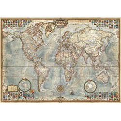 Educa Borras Puzzle Map of The World (1500 Pieces)