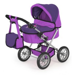 Bayer Design Trendy Dolls Pram (Lilac)