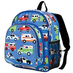Wildkin Toddler Action Vehicles Backpack, Multi