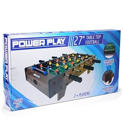 Power Play TY5896DB Table Top Football Foosball Game, 27