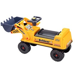 deAO Children's Ride on Excavator Digger Kids Farm Outdoor Toy Ride On Tractor