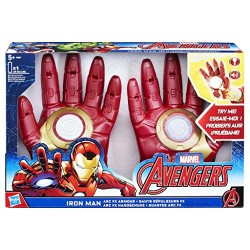 Avengers Marvel Iron Man Arc FX Gloves