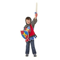 Melissa & Doug Knight Role Play Costume Dress