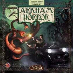 Arkham Horror Board Game a Call of Cthulhu