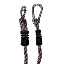 HIKS Tree Swing Conversion / Extension Rope, Fully Adjustable Ideal For Hanging a Swing From a Tree Branch