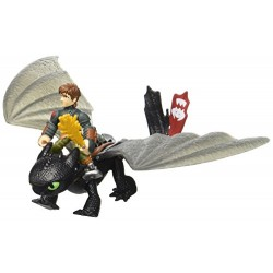 How to Train You Dragon Hiccup and Toothless Vs Armoured Dragon Set
