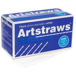 Artstraws School Pack (Thick White)