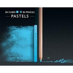 Creative Art Materials Caran D'Ache NeoColor II Water Soluble Wax Pastel Set, Multi