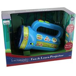 IN THE NIGHT GARDEN S14650 Fun and Learn Projector Torch