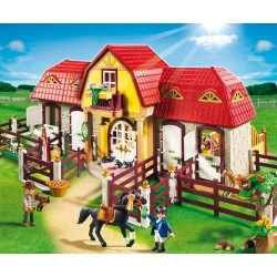 Playmobil 5221 Country Large Horse Farm with Paddock