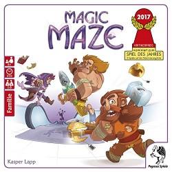 Pegasus Spiele 57200G Magic Maze Deutsche Ausgabe *Nominiert Spiel Des Jahres 2017* Board Game