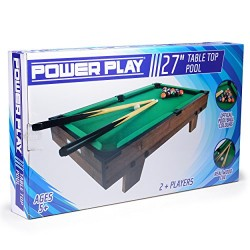Power Play TY5897DB Table Top Pool Game, 27
