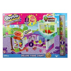 Shopkins 37369 Wave 2 Kinstructions Deluxe Food Court Building Set