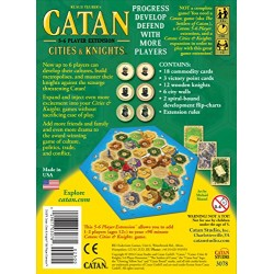 Catan Cities and Knights 5 and 6 Player Extension