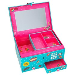 Top Model 8765.001 Jewellery Box Medium It CODE and Sound, Mot. 2