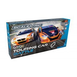 Scalextric C1372 BTCC Touring Car Battle Racing Playset