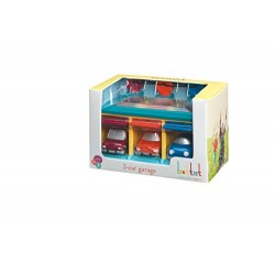 Battat 3 Car Garage Toddler Activity Toy