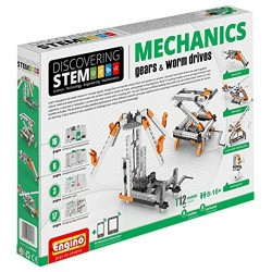 Engino STEM Mechanics Gears and Worm Drives Set