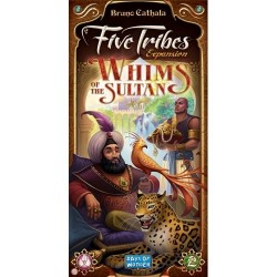 Days of Wonder DOW8404 Five Tribes Whims of The Sultan Expansion Board Game