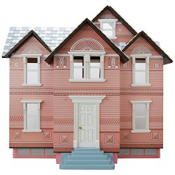 Melissa & Doug Classic Heirloom Victorian Wooden Doll's House