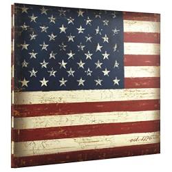 MBI Vintage Flag Post Bound Scrapbook 12 x 12
