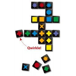 Iello – 51094 – Qwirkle Voyage Travel Game [English Language Not Guaranteed]