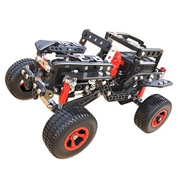 Meccano 6037616 Off Road Rally Jeep 25 Model Building Set