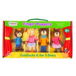Goldilocks Finger Puppet Set
