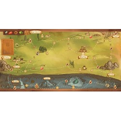 Red Raven Games RVM015 Near and Far Board Game