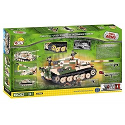 COBI 2480 Tiger II Army Model