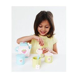 Early Learning Centre 135584 Wooden Teatime Set
