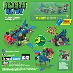 K'NEX Beasts Alive Robo