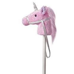 Aurora World Giddy Up Fantasy Unicorn Plush Toy (Pink/Purple/White)