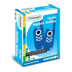 Discovery Channel Digital Walkie Talkies
