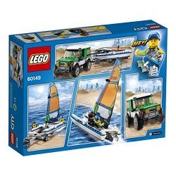 LEGO 60149 City Building Set 4x4 with Catamaran