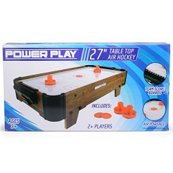 Power Play TY5898DB Table Top Air Hockey Game, 27