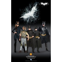 Dark Knight Rises Costume, Kids Batman Classic Costume Style 1, Large, Age 8