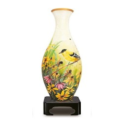 Paul Lamond Finches 3D Puzzle Vase (160 Pieces)