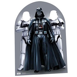 Star Wars Darth Vader and Stormtrooper Child Size Party Photo Stand In