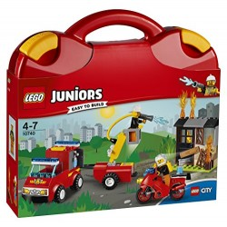 LEGO 10740 Juniors Fire Patrol Suitcase