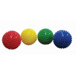 Edushape 10cm Sensory Balls Pack of 4 (Colours Vary)