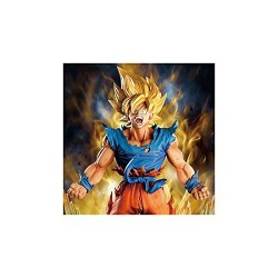 Banpresto BanprestoPRZBAN466 Abysse Dragon Ball Super Master Star Diorama The Son Goku Figure (18 cm)