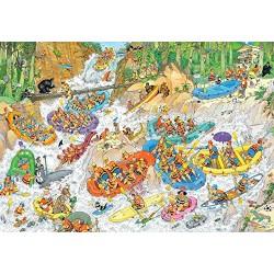 Jumbo Games Jan Van Haasteren Wild Water Rafting Jigsaw Puzzle (3000